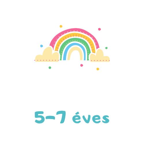 5-ös méret (5 -7 éves