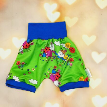 Gyerek rövidnadrág- bogyó zöld
