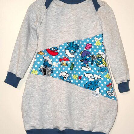 Kislány buborék ruha- Hupikék törpikék